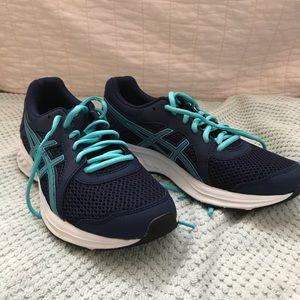 ASICS navy/light blue Sneakers